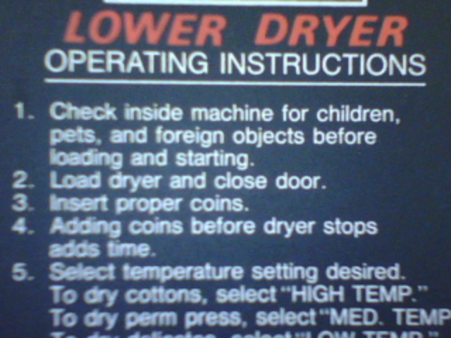 Blog dryer