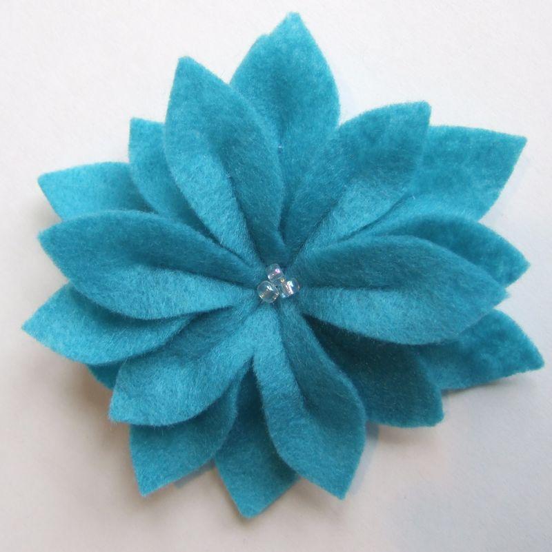 Turq flower