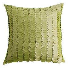 Blog green pillow