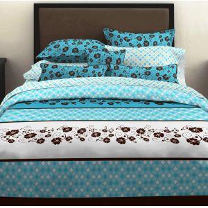 Turq bedding