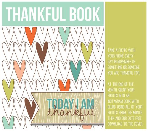 Thankful book instructions