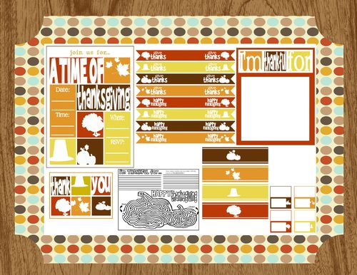FF Fall Printable