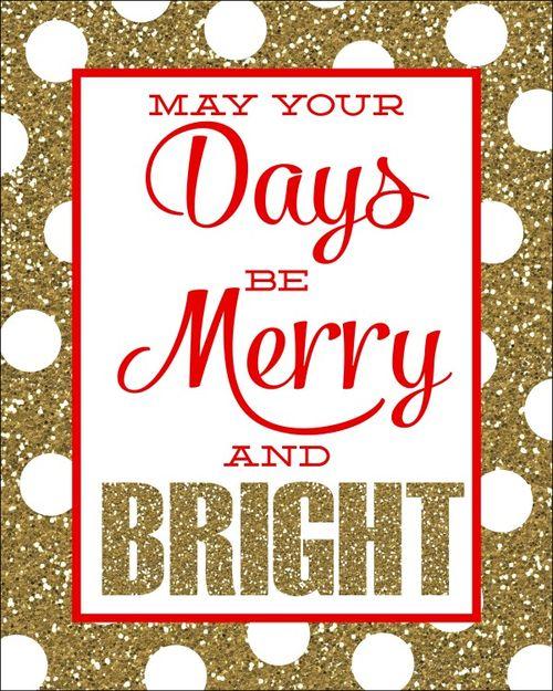Merry glitter